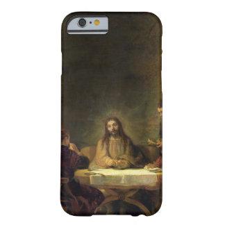 La cena en Emmaus, 1648 (aceite en el panel) Funda De iPhone 6 Barely There