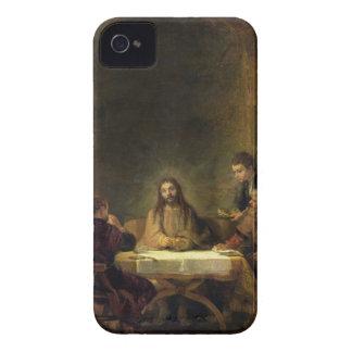 La cena en Emmaus, 1648 (aceite en el panel) Funda Para iPhone 4