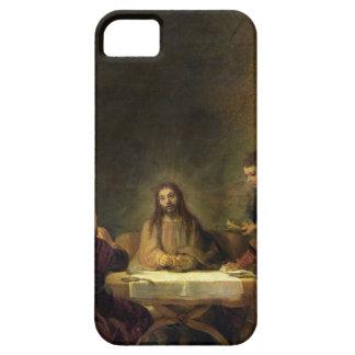 La cena en Emmaus, 1648 (aceite en el panel) Funda Para iPhone SE/5/5s