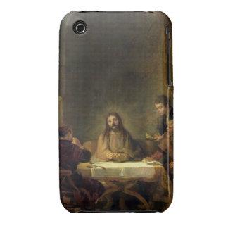 La cena en Emmaus, 1648 (aceite en el panel) iPhone 3 Cobreturas