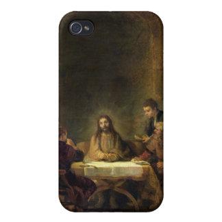 La cena en Emmaus, 1648 (aceite en el panel) iPhone 4/4S Fundas