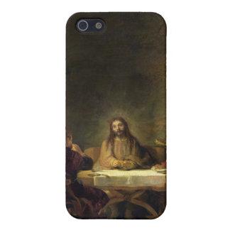 La cena en Emmaus, 1648 (aceite en el panel) iPhone 5 Carcasas