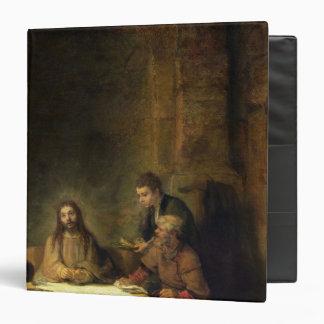"""La cena en Emmaus, 1648 Carpeta 1 1/2"""""""