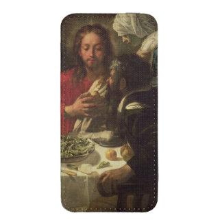La cena en Emmaus, c.1614-21 Bolsillo Para iPhone