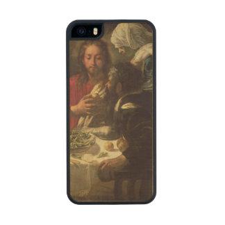La cena en Emmaus, c.1614-21 Funda De Arce Carved® Para iPhone 5 Slim