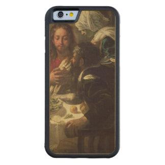 La cena en Emmaus, c.1614-21 Funda De iPhone 6 Bumper Arce