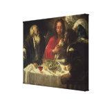 La cena en Emmaus, c.1614-21 Impresiones En Lienzo Estiradas