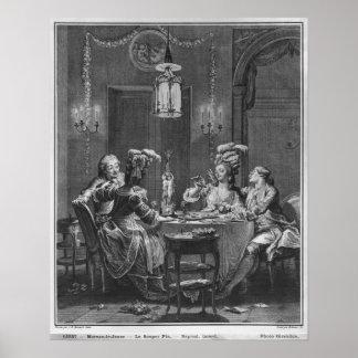 La cena gastrónoma póster