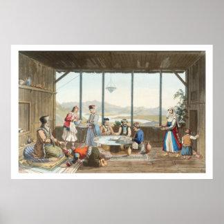 La cena se sostuvo en Delphi en honor del pintor c Posters