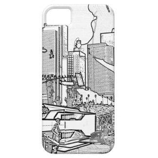 LA céntrico iPhone 5 Case-Mate Cobertura