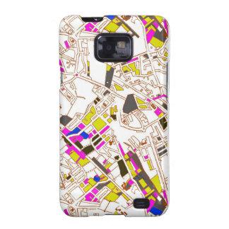 LA céntrico Samsung Galaxy SII Carcasas