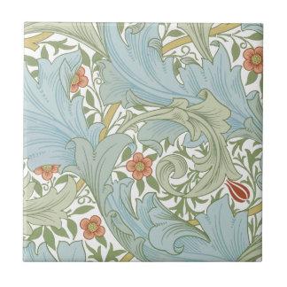 La cerámica de la colección de Morris Company Azulejo Cuadrado Pequeño