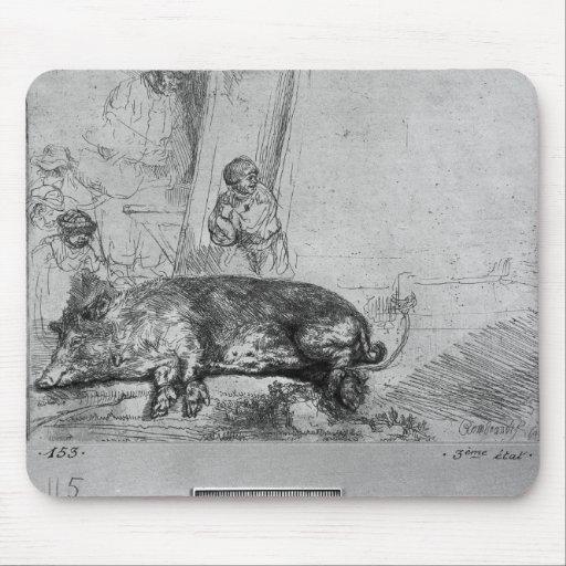La cerda, 1643 alfombrilla de ratones