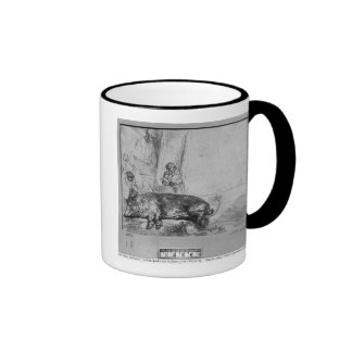 La cerda, 1643 taza
