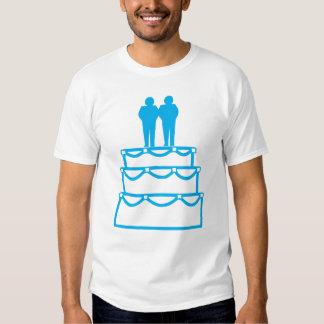 La ceremonia del compromiso del matrimonio camisas