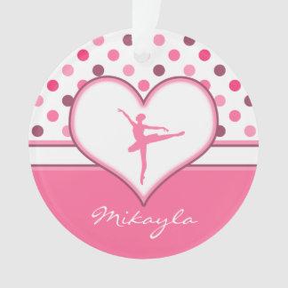 La cereza inspiró al bailarín de ballet rosado de