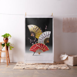 La cereza japonesa aviva la tela de la tapicería telas