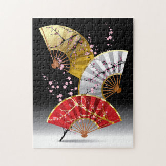 La cereza japonesa aviva rompecabezas