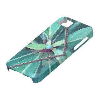 La cereza sale del embrague iPhone 5 fundas