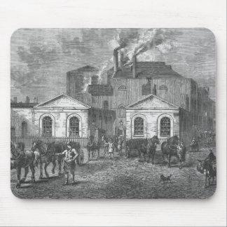 La cervecería de Meux, 1830 Mousepad