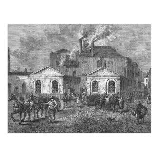 La cervecería de Meux, 1830 Postales