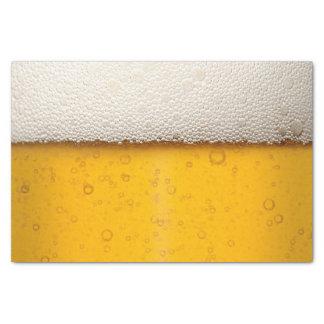 La cerveza burbujea modelo del fondo papel de seda pequeño