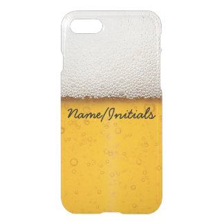 La cerveza burbujea nombre de consumición funda para iPhone 7