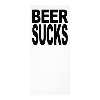 La cerveza chupa plantilla de lona