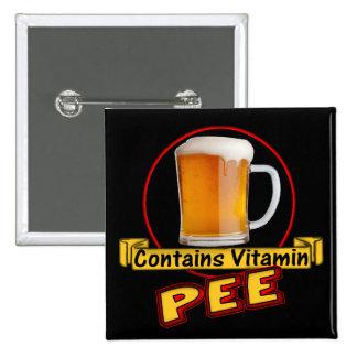 La cerveza contiene los regalos de las camisetas d pin