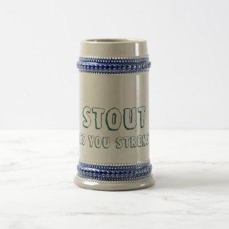 ¡La cerveza de malta, le da fuerza! Diseños del de Taza De Café