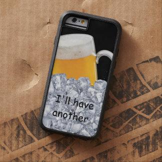 La cerveza divertida de los hombres funda para  iPhone 6 tough xtreme