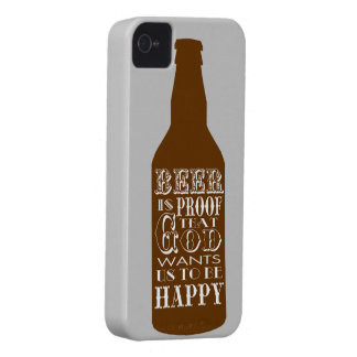 La cerveza es caso del iPhone 4/4S de la prueba el Case-Mate iPhone 4 Coberturas