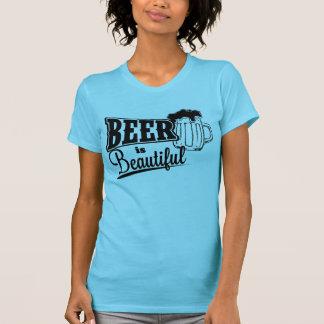 La cerveza es hermosa camisetas