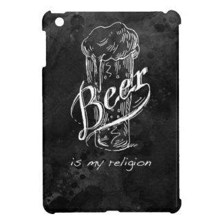 La cerveza es mi religión en base negra de la acua