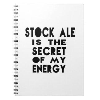 La cerveza inglesa común es el secreto de mi libreta