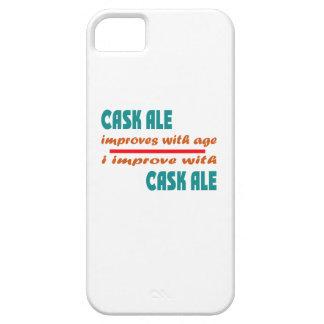 La cerveza inglesa del barril mejora con edad iPhone 5 carcasa