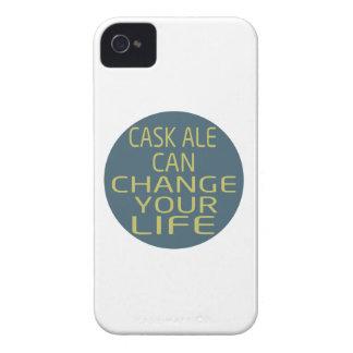 La cerveza inglesa del barril puede cambiar su iPhone 4 carcasas