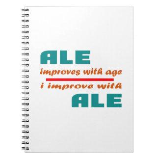 La cerveza inglesa mejora con edad libro de apuntes