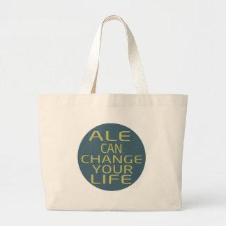 La cerveza inglesa puede cambiar su vida bolsas de mano