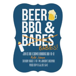 La cerveza la fiesta de bienvenida al bebé del Bb