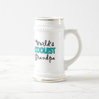 La cerveza más fresca Stein del abuelo del mundo Taza De Café