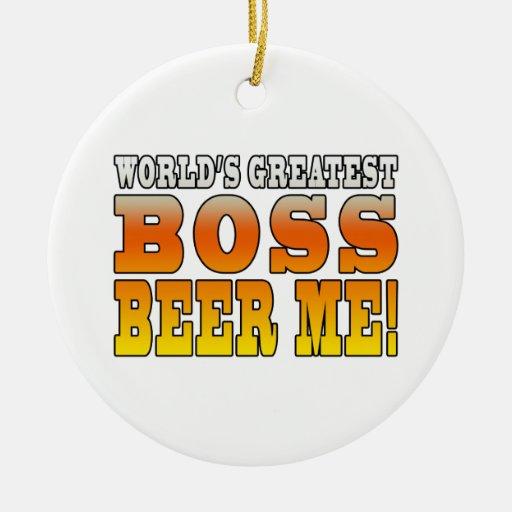 La cerveza más grande de Boss de los mundos de las Ornamentos Para Reyes Magos