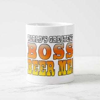 La cerveza más grande de Boss de los mundos de las Tazas Extra Grande
