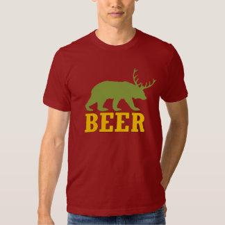 ¡La cerveza mitológica! Playeras