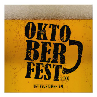 La cerveza Oktoberfest temático 2013 invita Comunicados