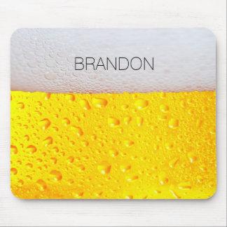 La cerveza realista lo personaliza tapete de ratón