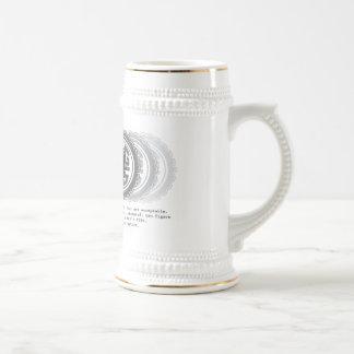 La cerveza Stein del mag 5 Taza De Café