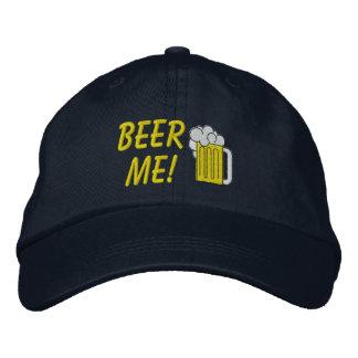 La cerveza yo bordó el gorra gorra bordada