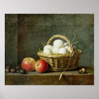 La cesta de huevos, 1788 posters