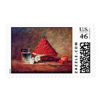 La cesta de la fresa de Chardin Jean-Baptiste Sim Envio